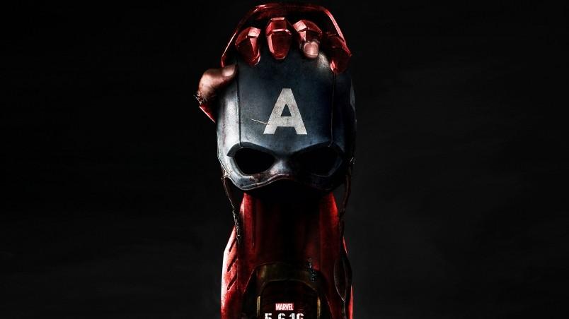 Captain America Civil War Poster 2016 HD Wallpaper   WallpaperFX 804x452