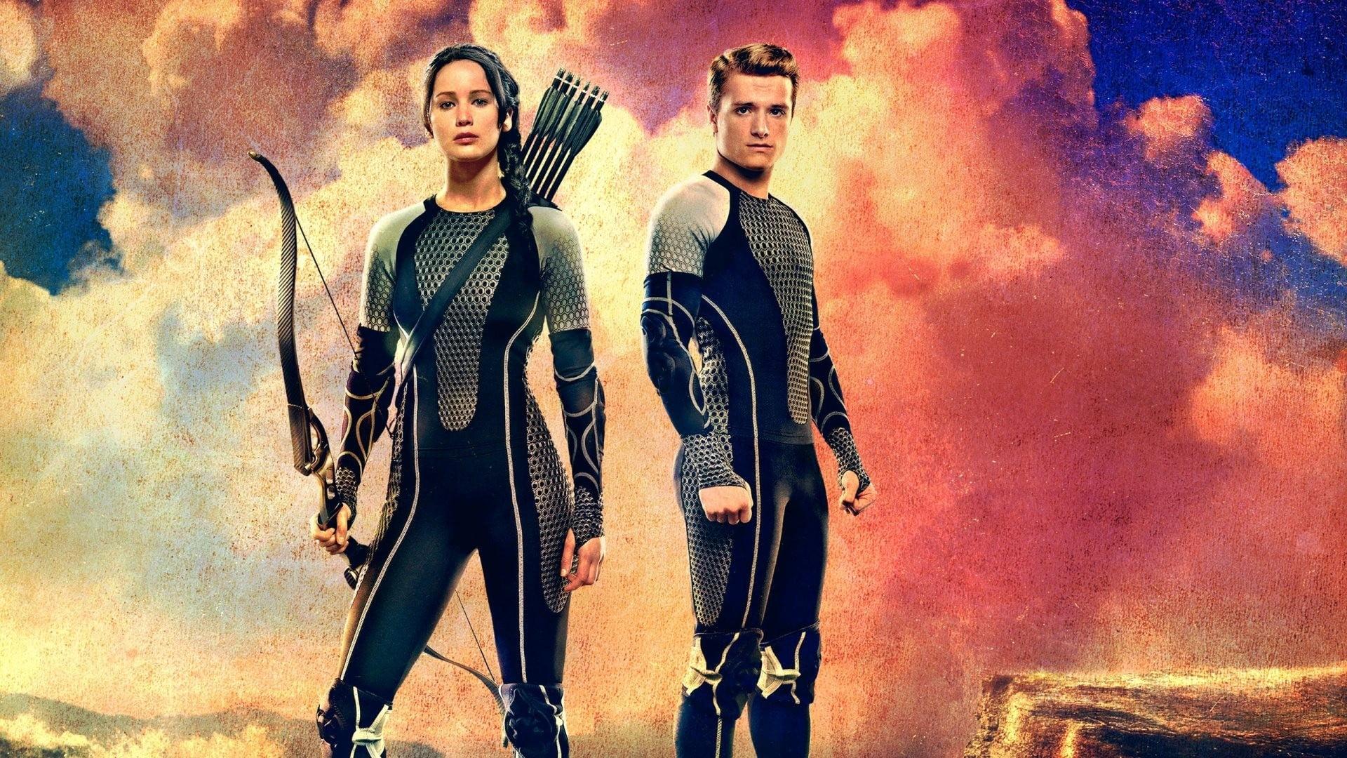 Katniss Everdeen and Peeta Millark Hunger Games Jennifer 1920x1080