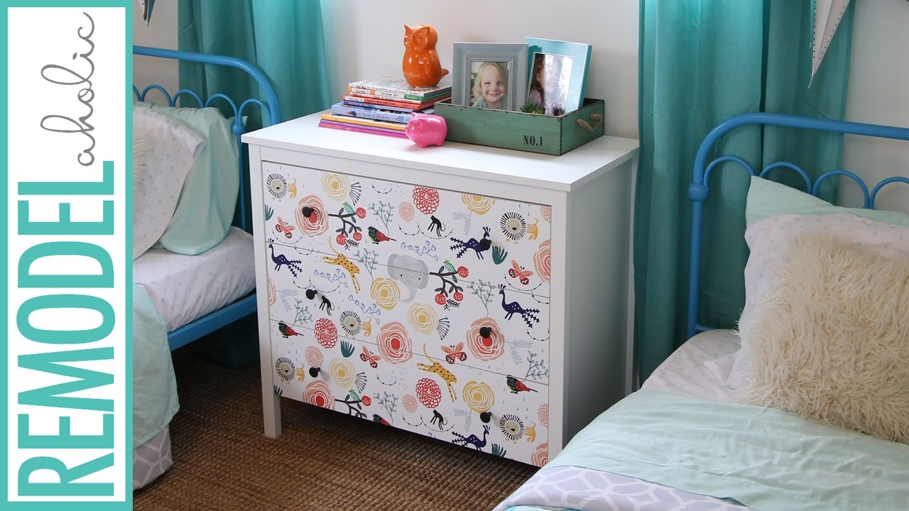DIY 15 Minute Ikea Dresser Hack How to Makeover your Dresser 1280x720