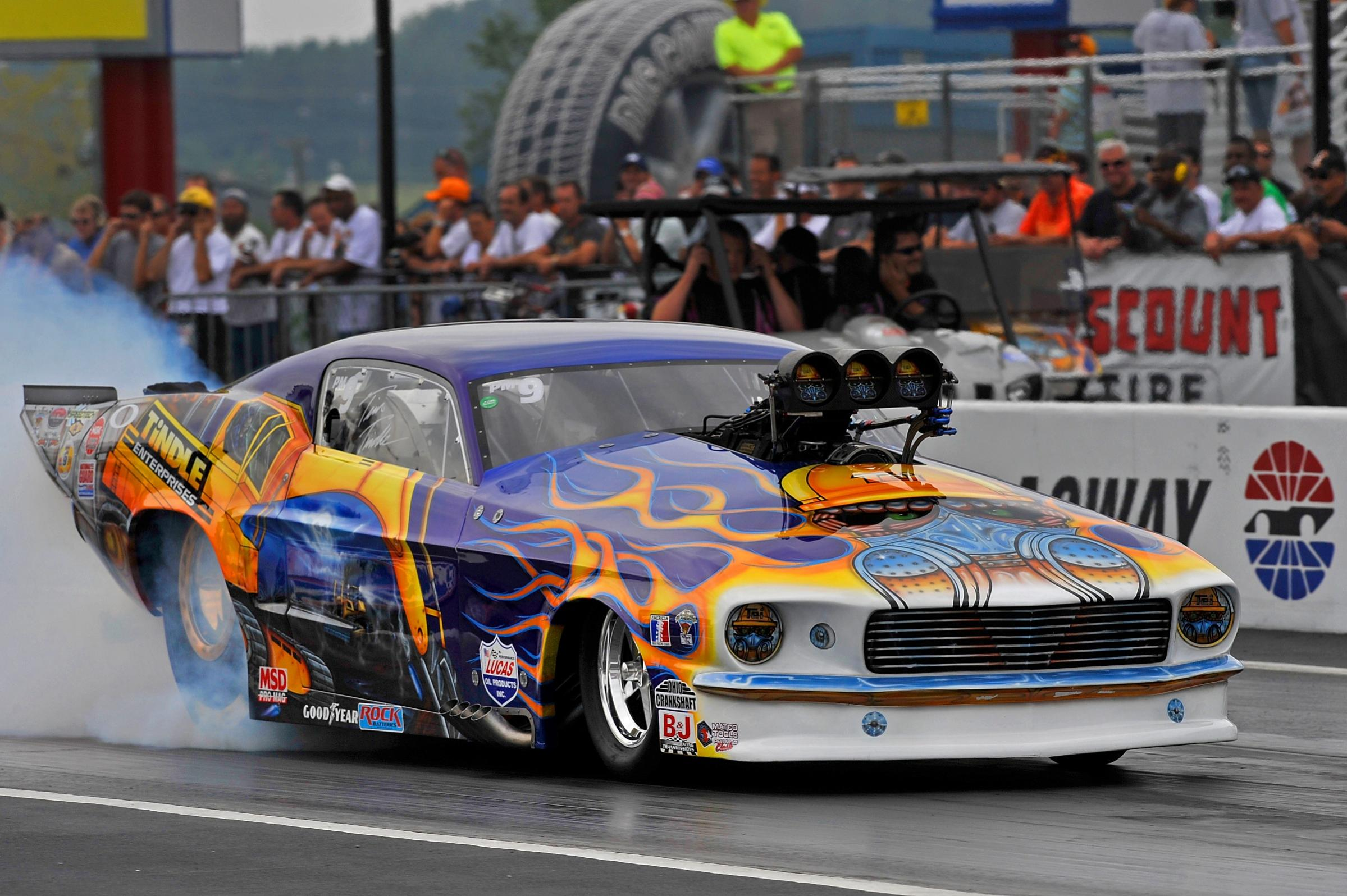 Mustang NHRA classic muscle drag race racing hot rod rods g wallpaper 2399x1596
