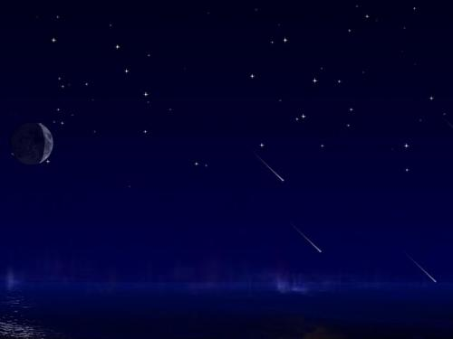 Shooting Star wallpaper 500x375