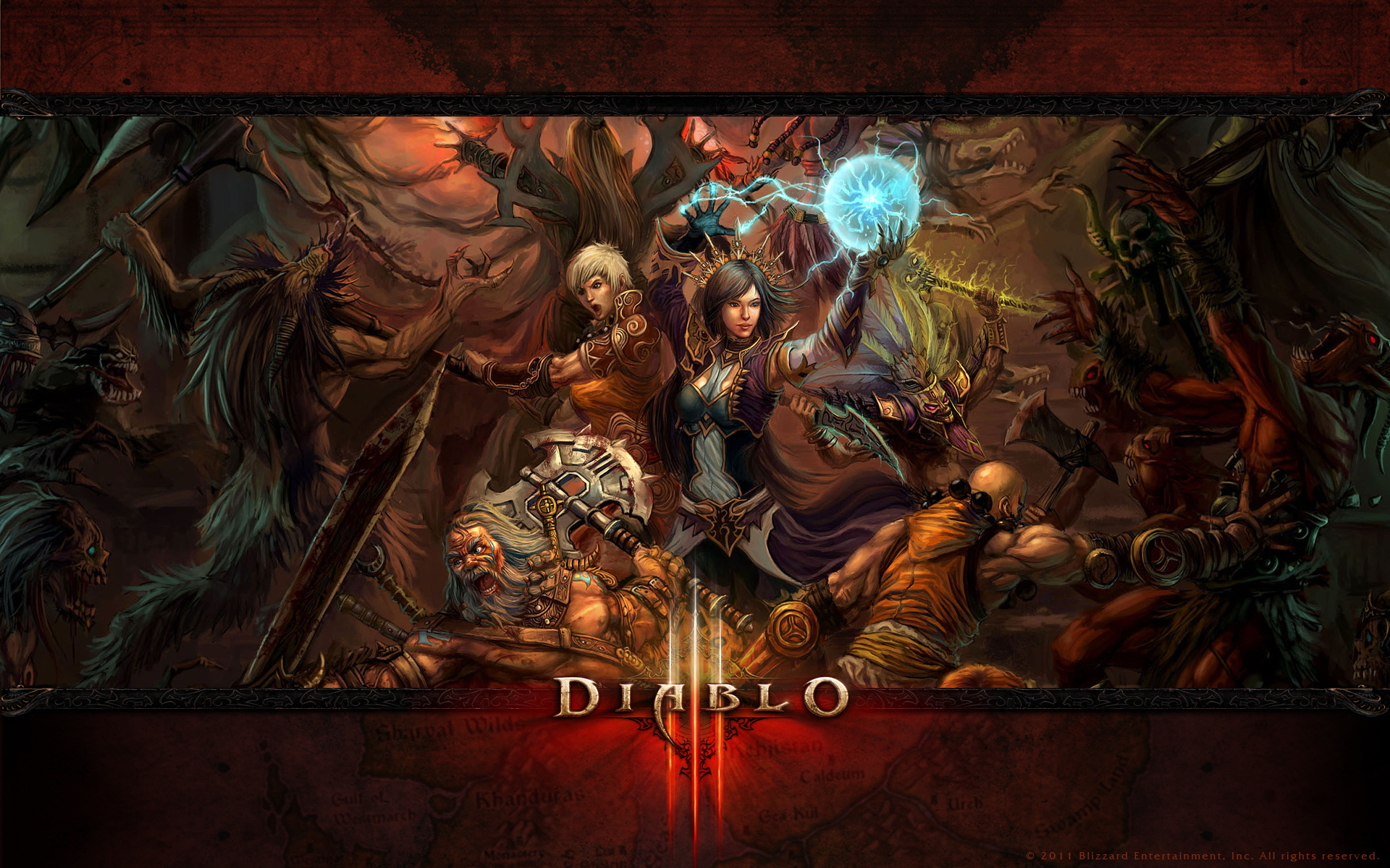 50 Hd Diablo 3 Wallpaper On Wallpapersafari