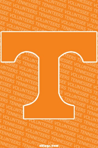 Tennessee Volunteers iPhone Wallpaper 865 ohLays 320x480