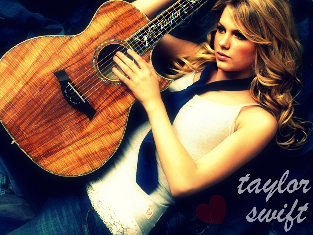 Taylor Swift Guitar Wallpaper Mega Wallpapers 1024x768