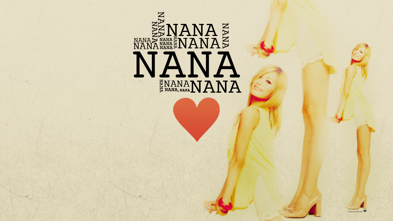 AS JooyeonLizzy fynanagermany Nana Wallpaper D [1366x768] 1366x768