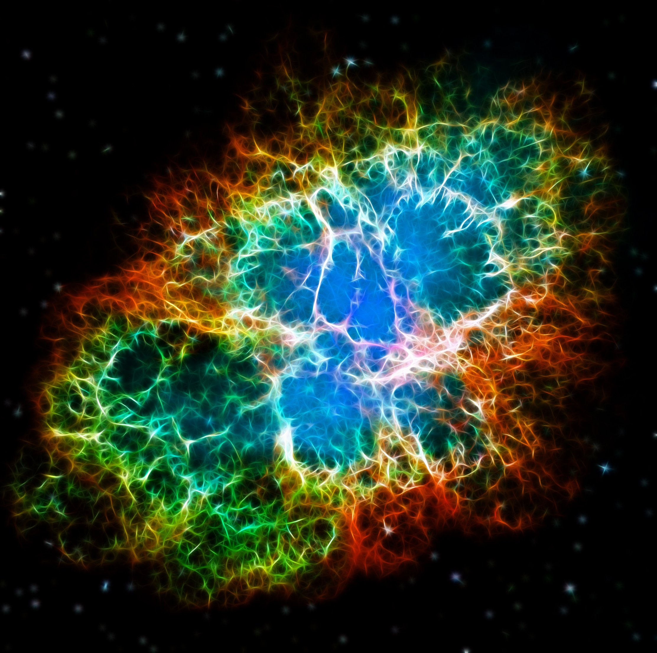 Crab Nebula Wallpaper   Viewing Gallery 2224x2212