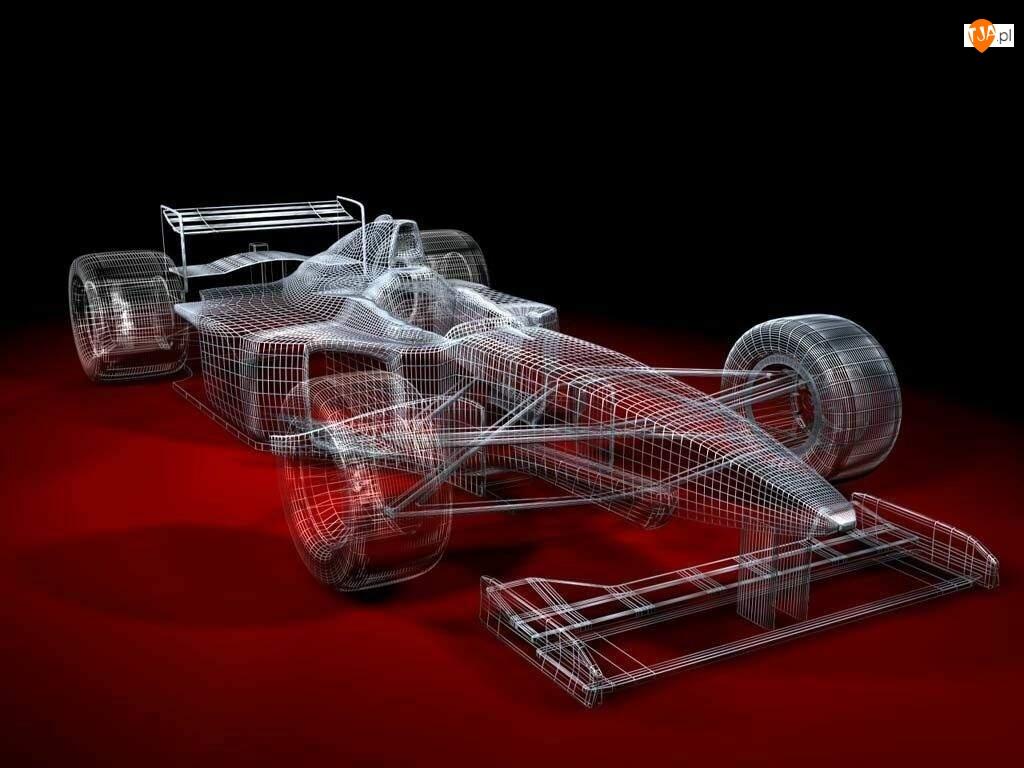 Projekt F1 3D Bolid   TapetyTjapl 1024x768