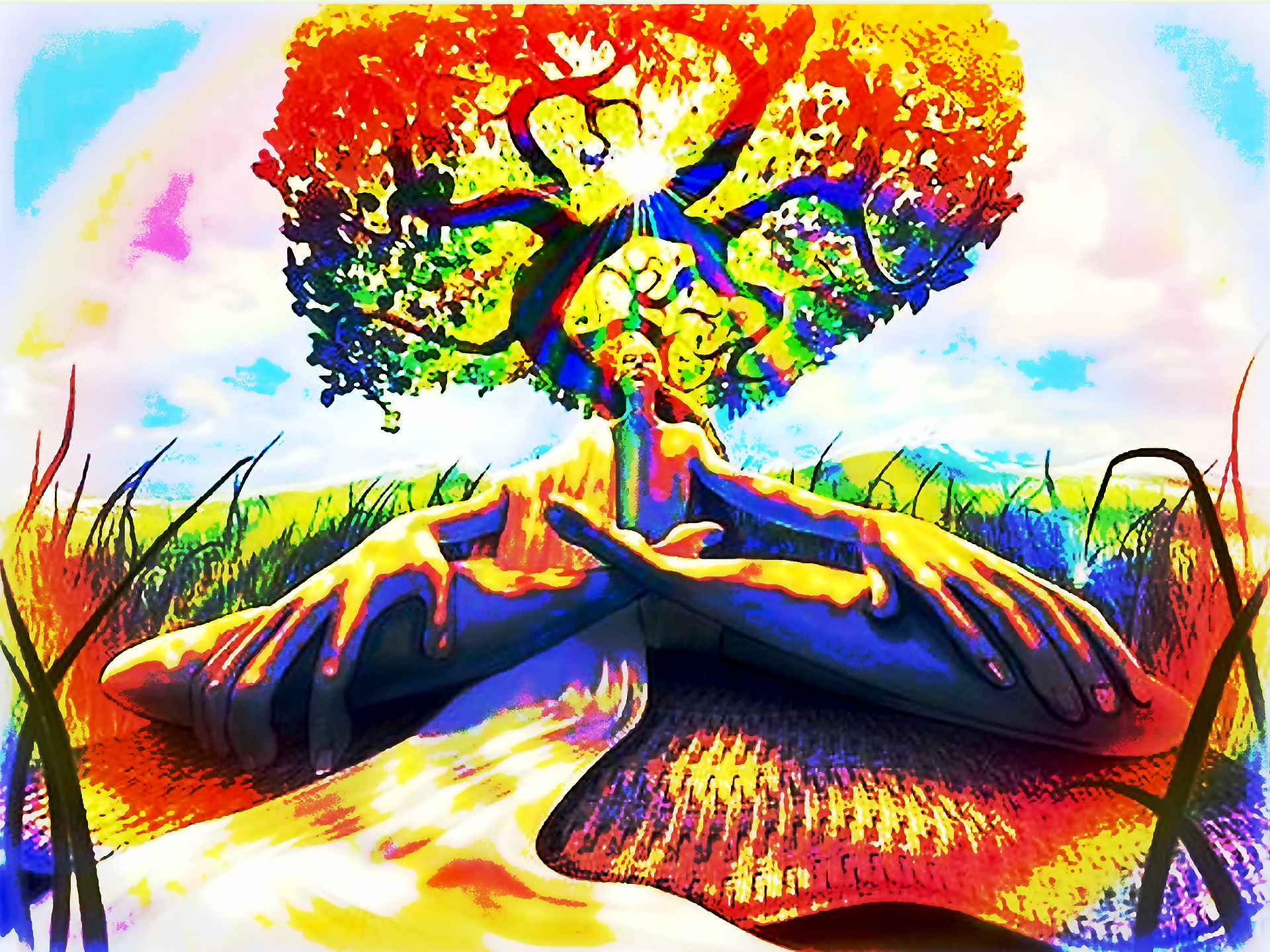 Artistic   Psychedelic Wallpaper 1920x1440