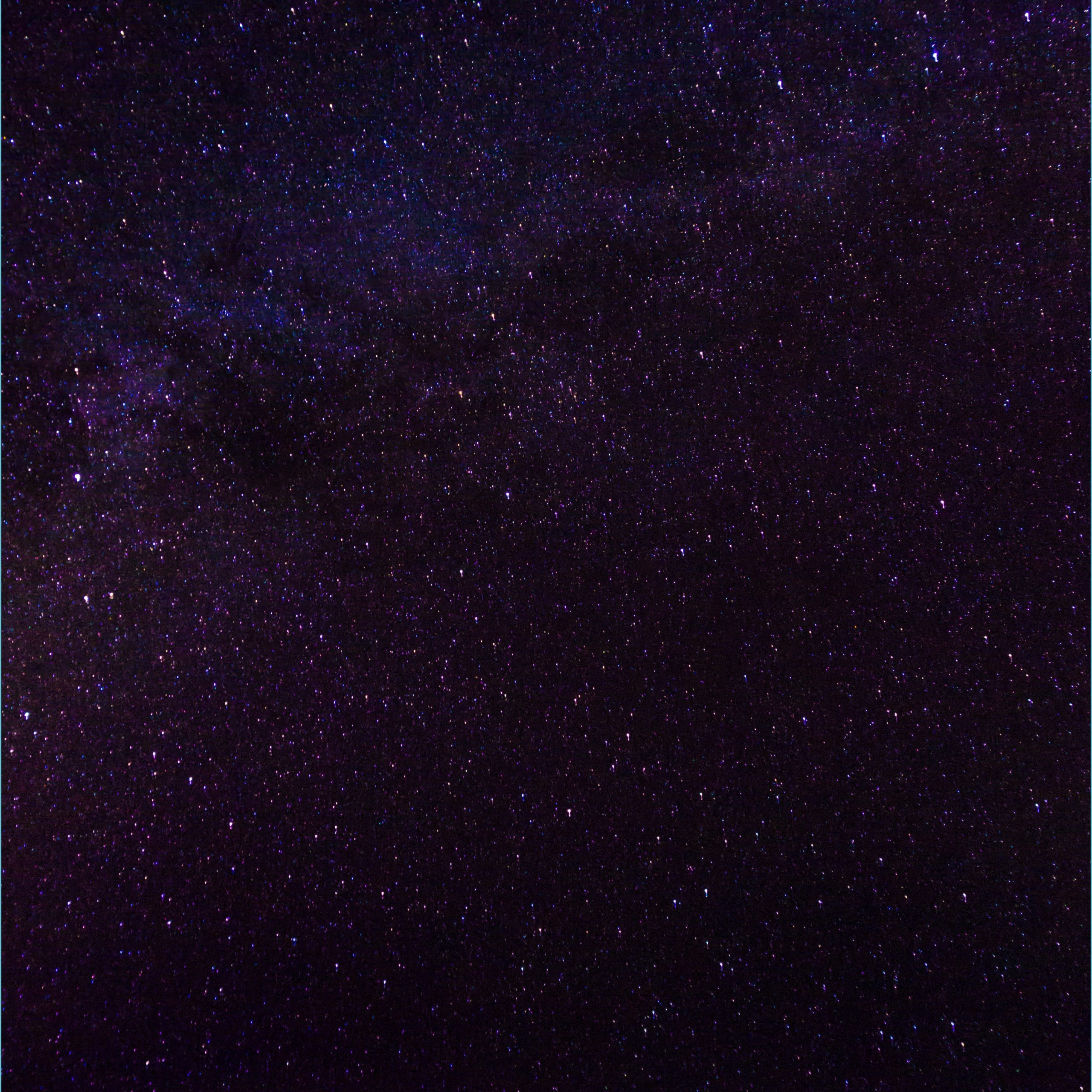 Iphone Black Galaxy Background   10x10   Download HD Wallpaper 2560x2560
