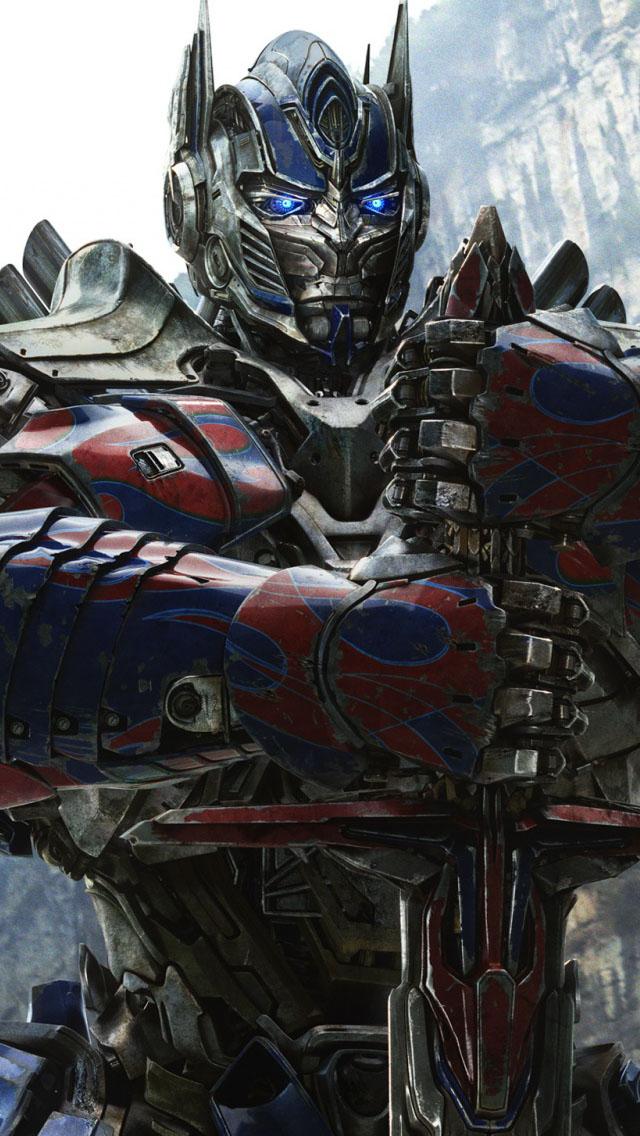 Optimus Prime in Transformers 4 Wallpaper   iPhone Wallpapers 640x1136