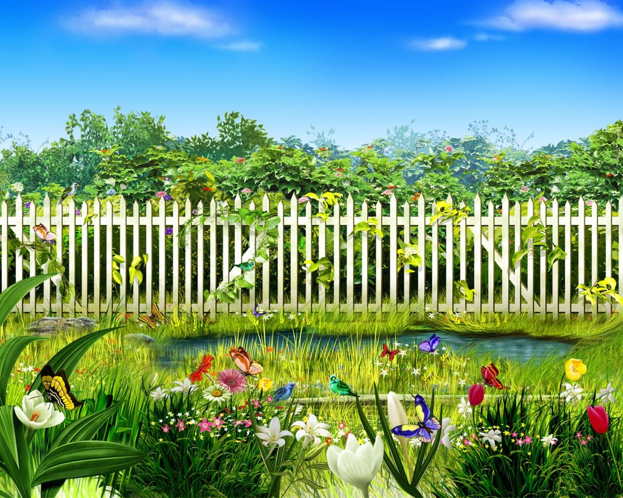 луг сад дворик трава  № 2691581 бесплатно