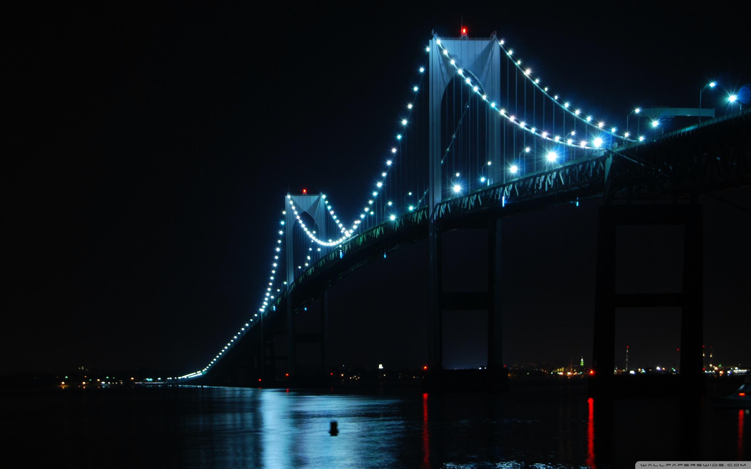 Newport Bridge Rhode Island 4K HD Desktop Wallpaper for 4K 2560x1600