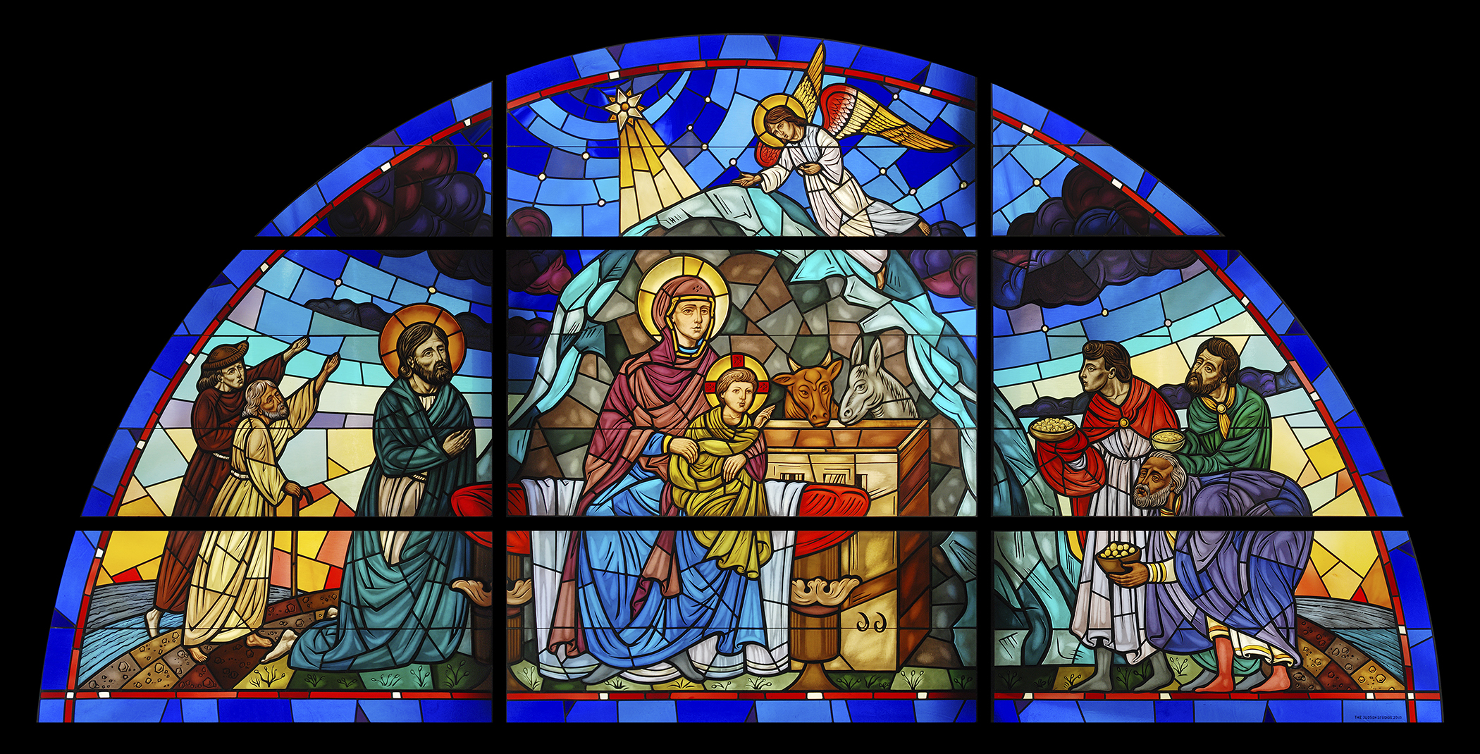 catholic art mary jesus art cathedral church religion wallpaper 2100x1070