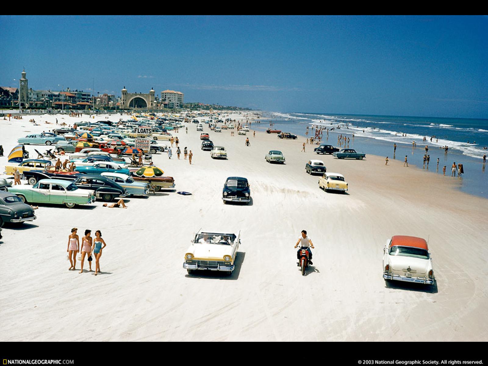 Daytona Beach Florida 1957 1600x1200