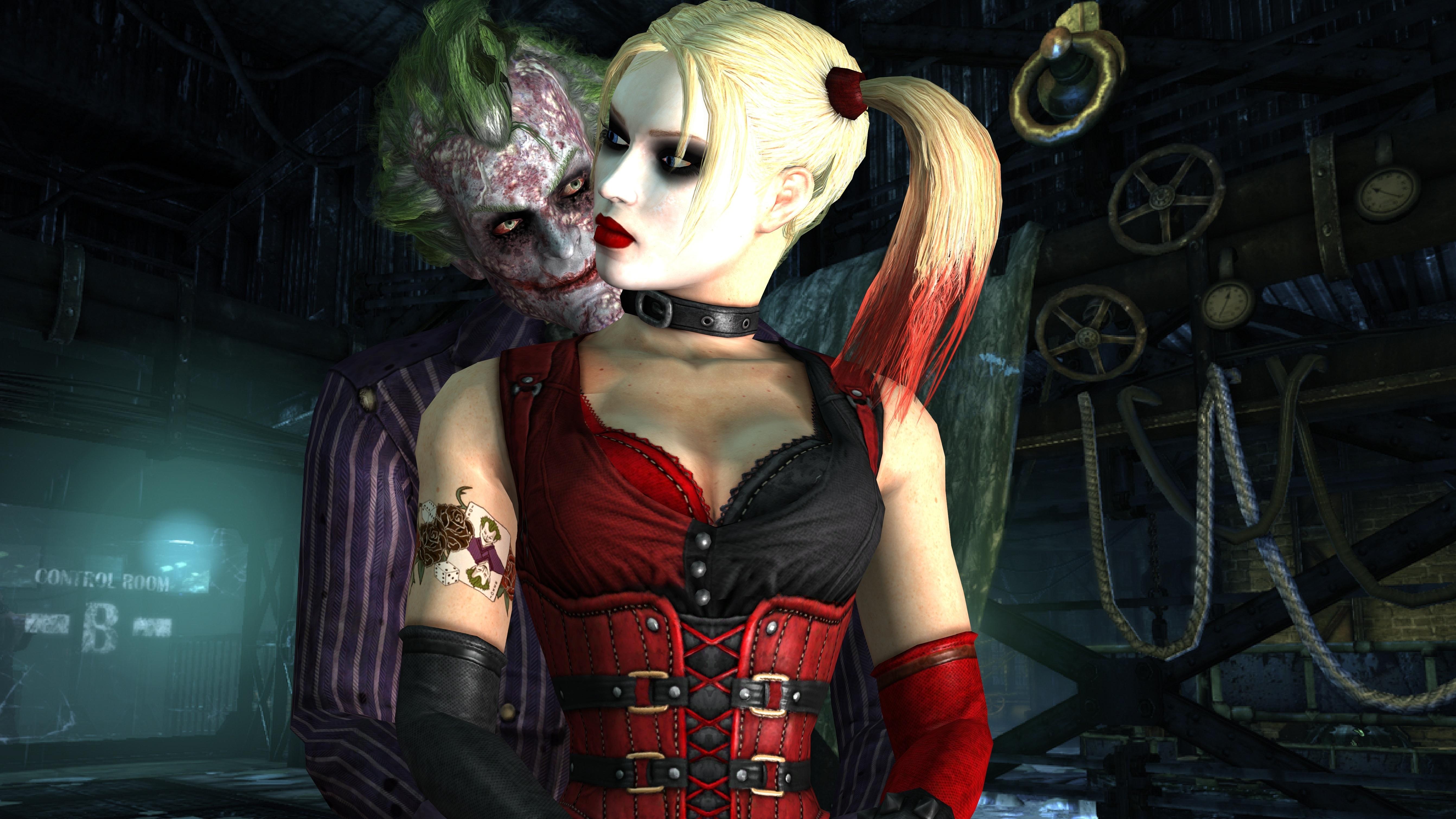 Joker Harley Quinn Wallpaper Wallpapersafari