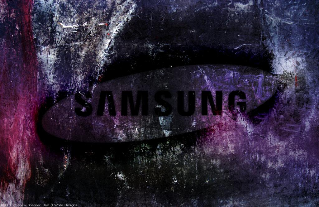 Samsung Logo Wallpaper