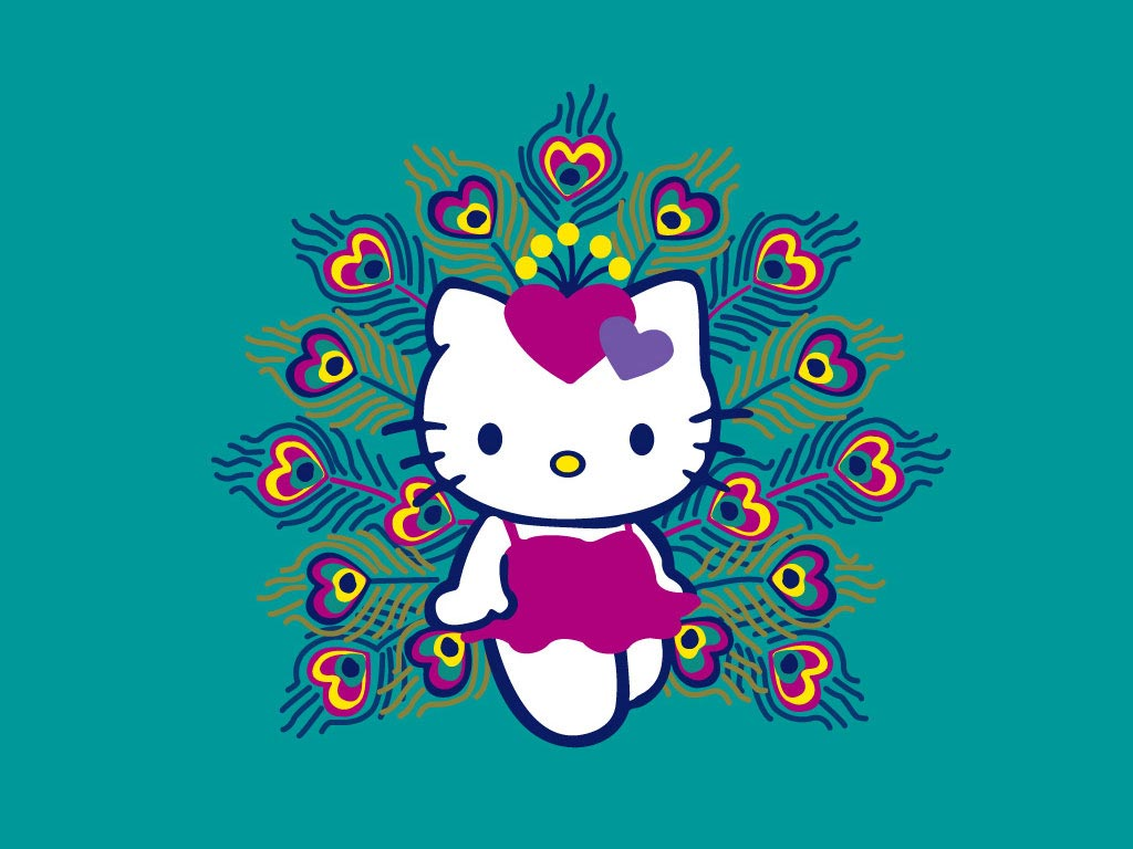Wallpapers For > Hello Kitty Thanksgiving Wallpaper