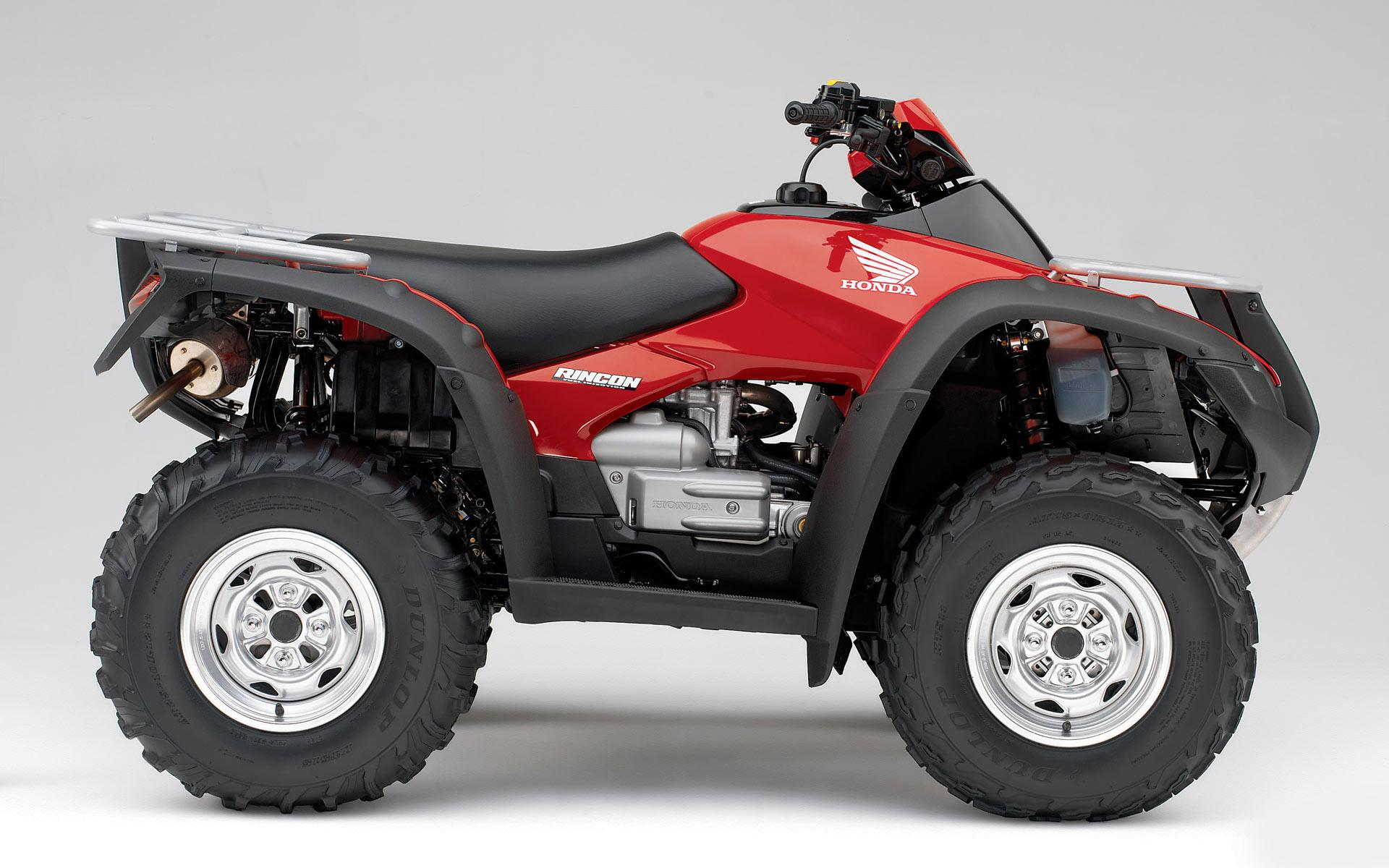 wonderful red colour honda atv widescreen high definition wallpaper 1920x1200