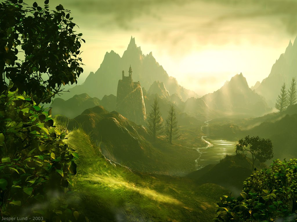 Fantasy land wallpaper wallpapersafari - Fantasy land wallpaper ...