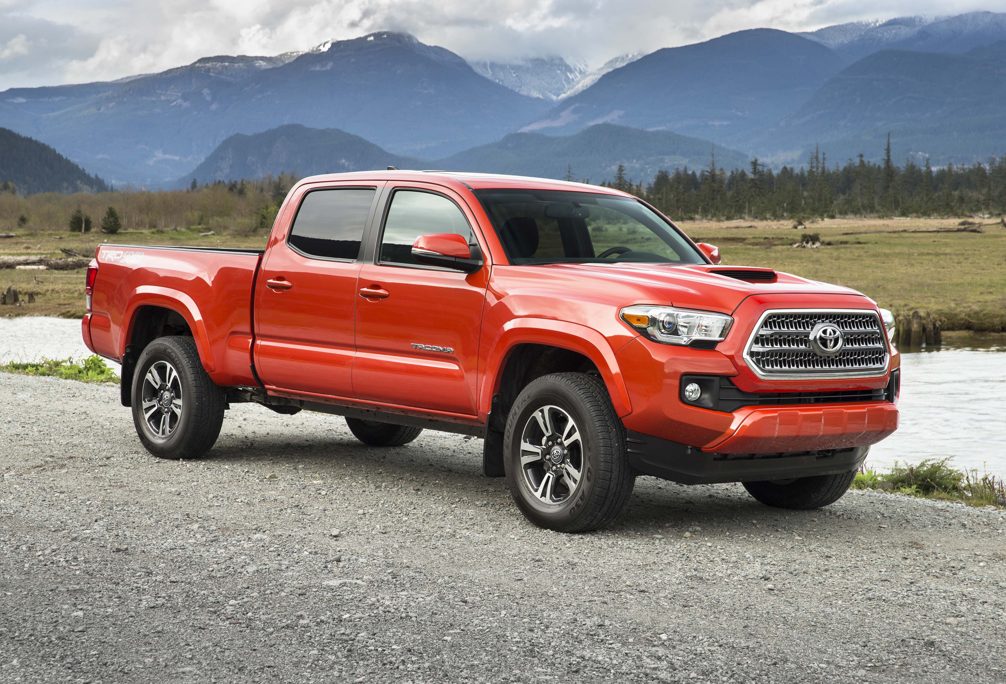 Wallpapers 2015 toyota tacoma trd sport double cab toyota tacoma 4096x2785