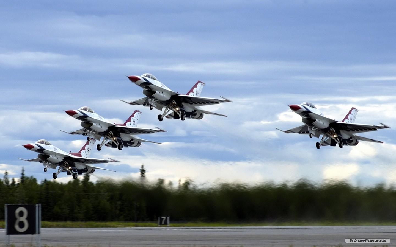 Photography wallpaper   USAF Thunderbirds wallpaper   1440x900 1440x900