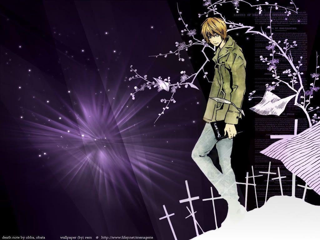 Light Yagami Wallpapers 1024x768
