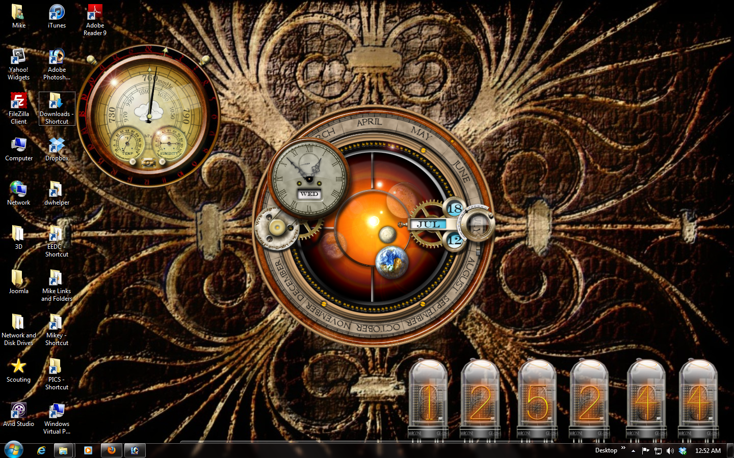 my new steampunk desktop this is a screen grab of my new steampunk 1440x900