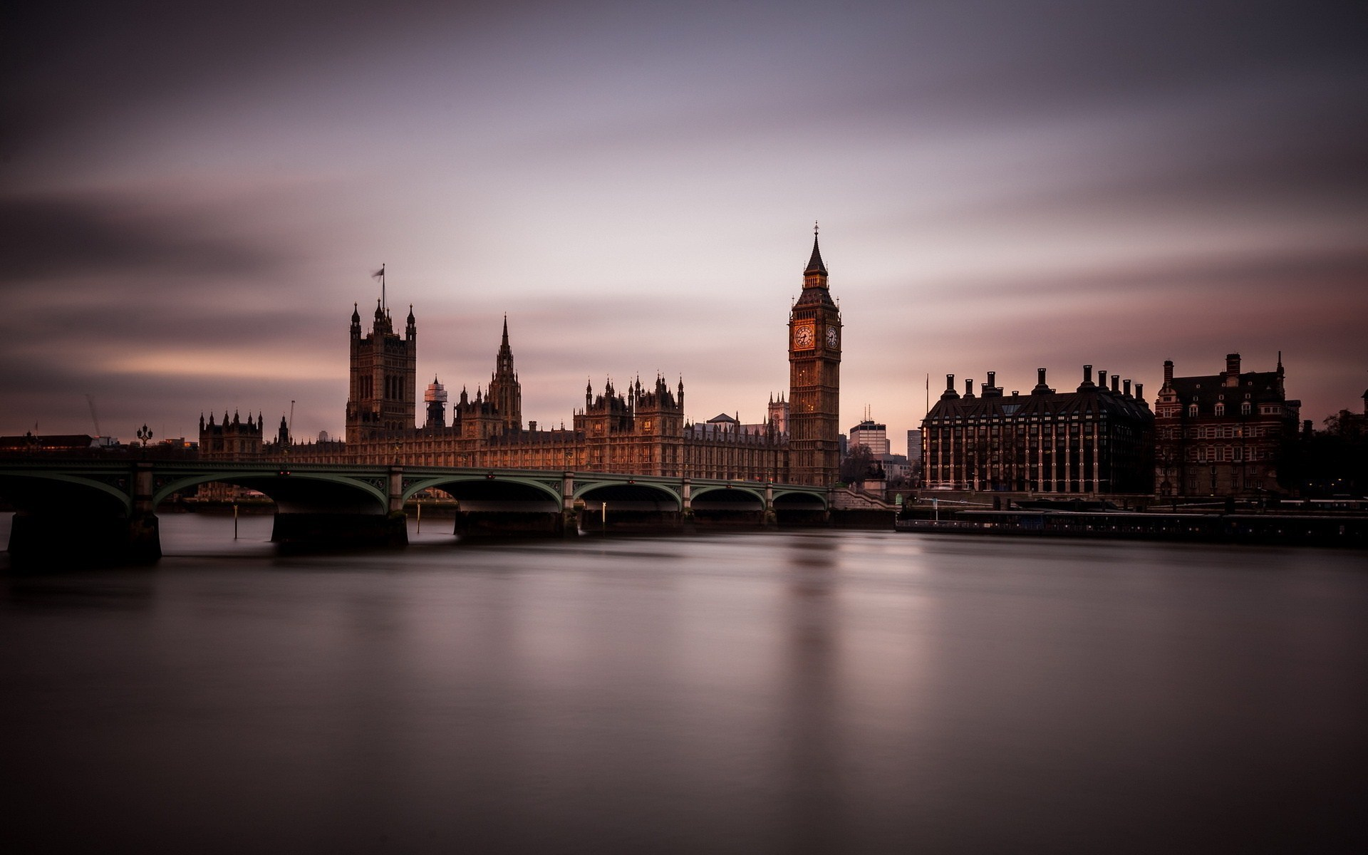 ... > Stadt HD Hintergrundbilder > England, Fluss Themse, London, Stadt