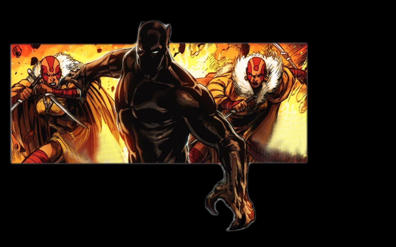 Black Panther comics Marvel Comics wallpaper 1440x900 1440x900