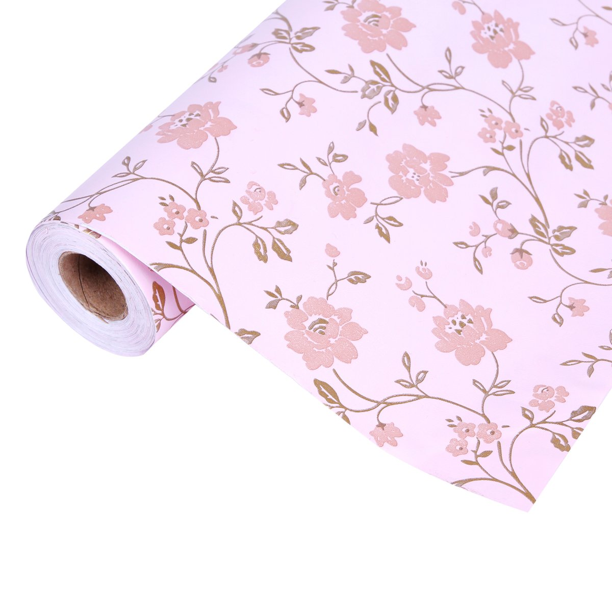 Damara Width 175 Country Style Flowers Removable Stick Wallpaper 1200x1200