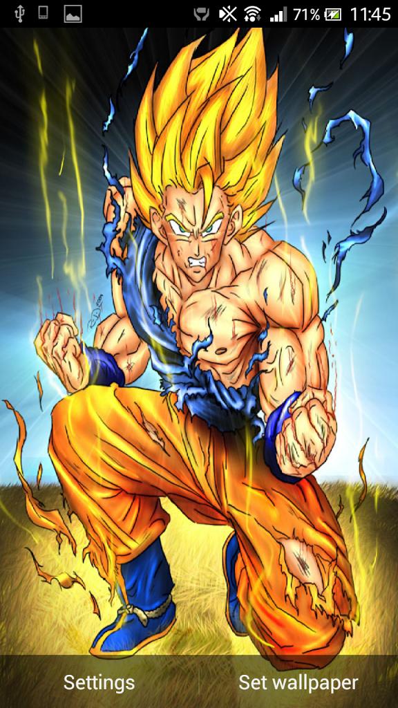 50 Goku Live Wallpaper On Wallpapersafari