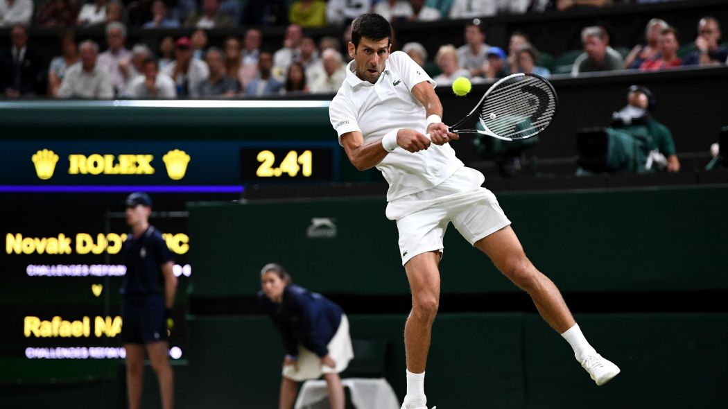 Novak Djokovic holds overnight lead against Rafael Nadal after 1050x590