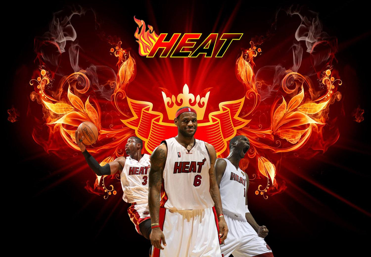 download Miami Heat Wallpapers HD 2016 [1500x1039] for your 1500x1039