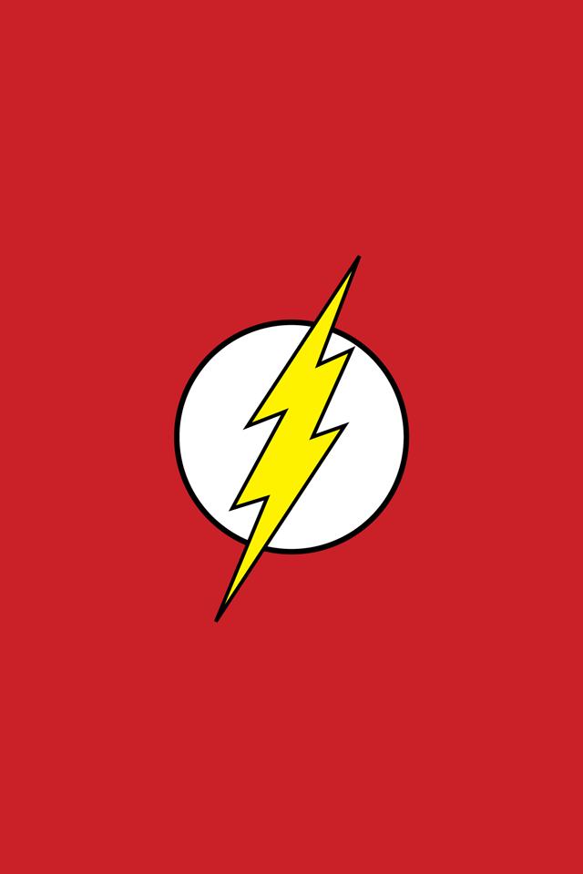 Flash Logo   iPhone Wallpaper 640x960