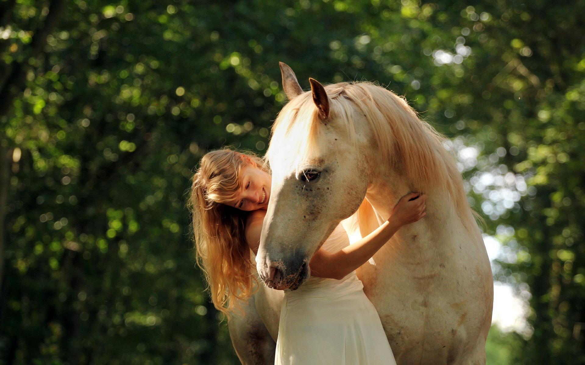 Wallpaper girl horse summer mood wallpapers mood   download 1920x1200