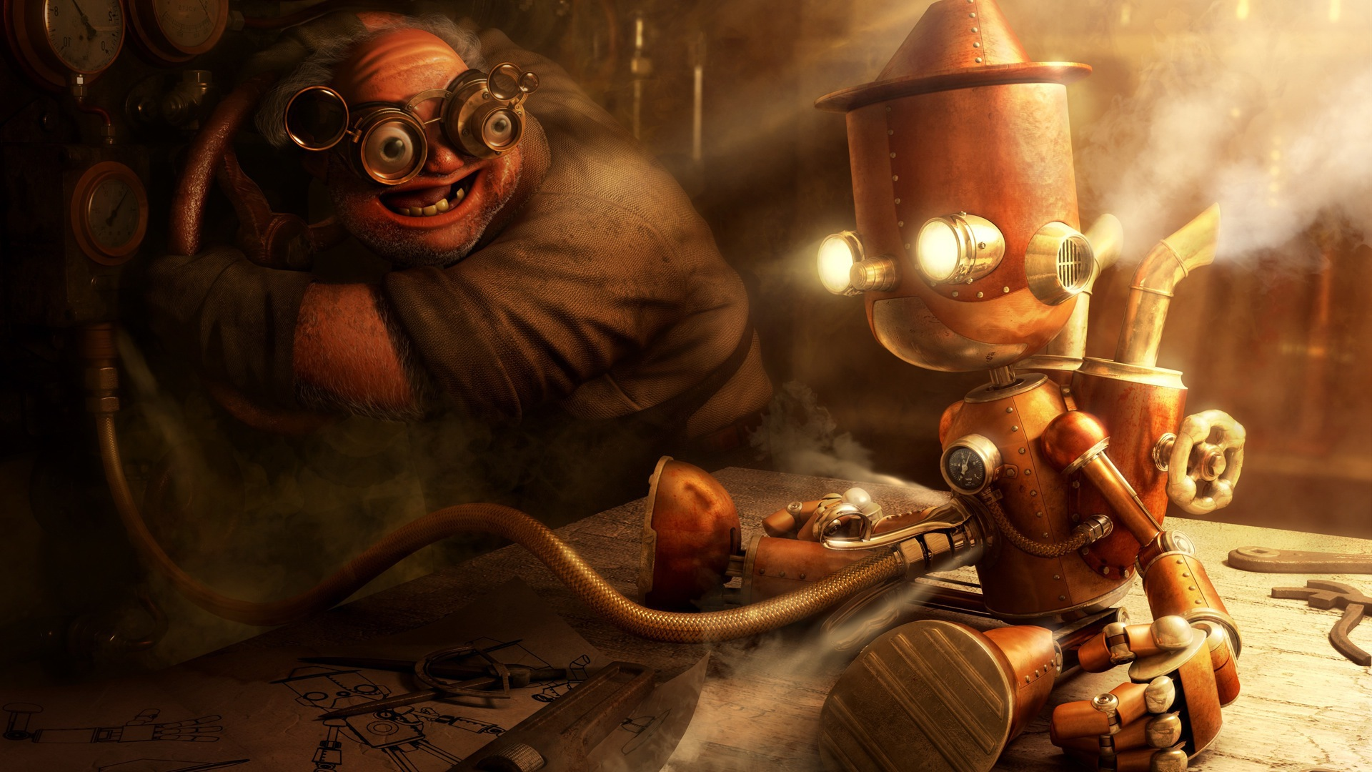 Pinocchio Steampunk wallpapers and images   wallpapers pictures 1920x1080