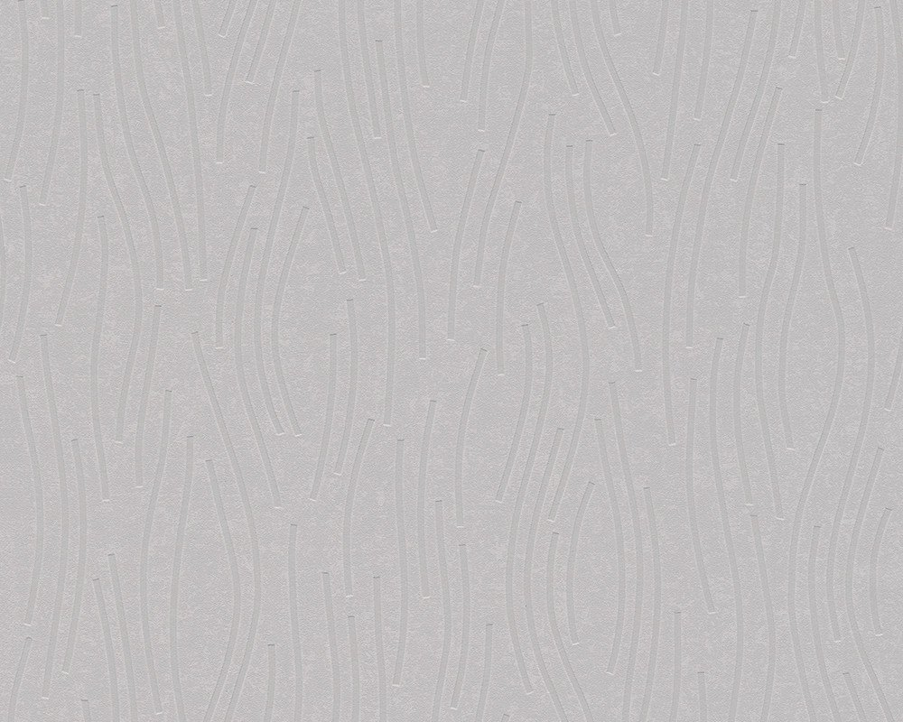 Sample Waves Wallpaper in Beige and Grey design by BD Wall BURKE 1000x800