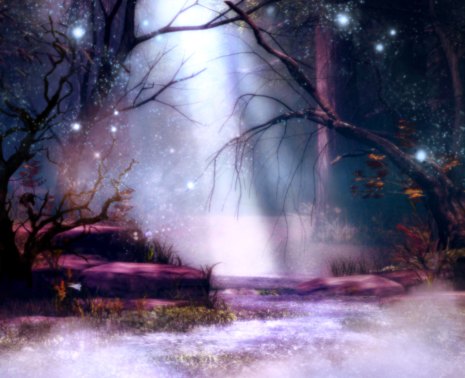 mystical christmas wallpaper - photo #6