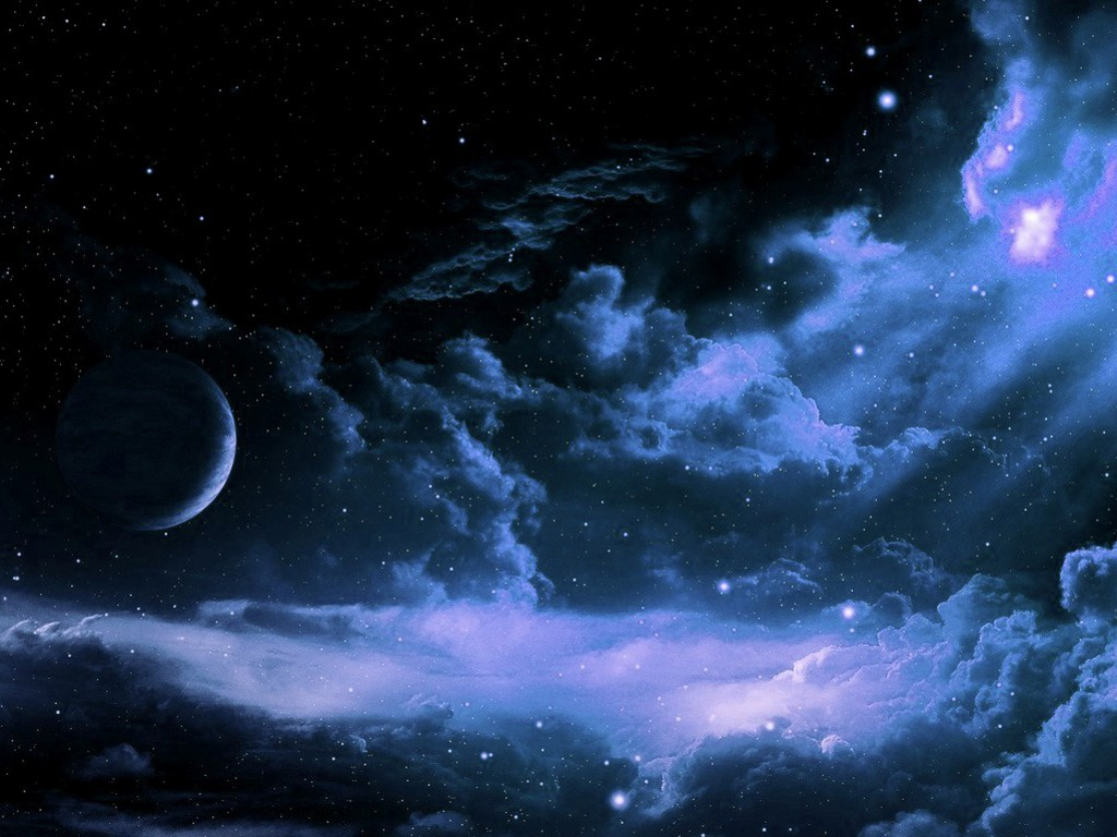 GALLERY Starry Night Sky Wallpaper Hd 1024x768