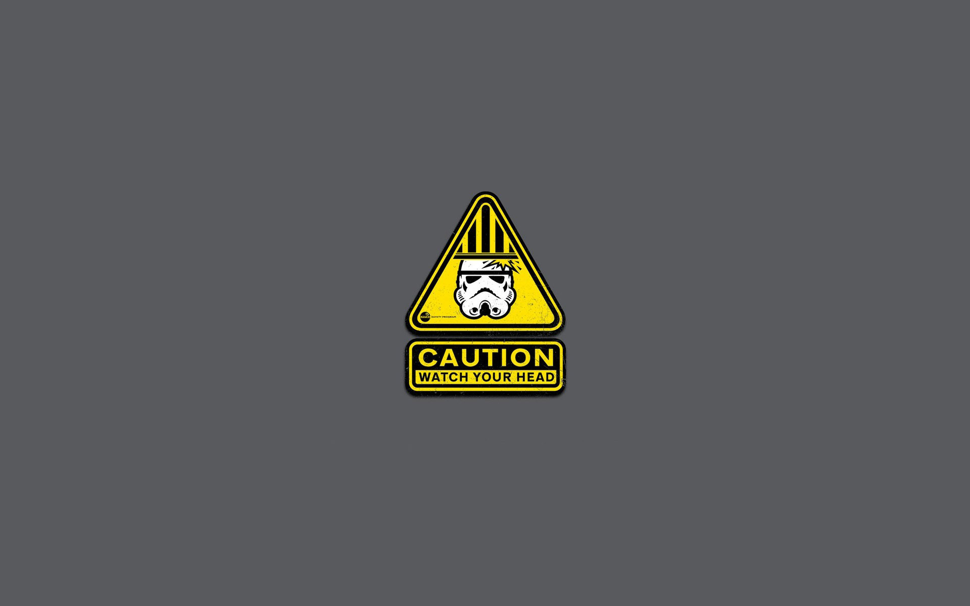 Caution Sign Wallpaper Wallpapersafari