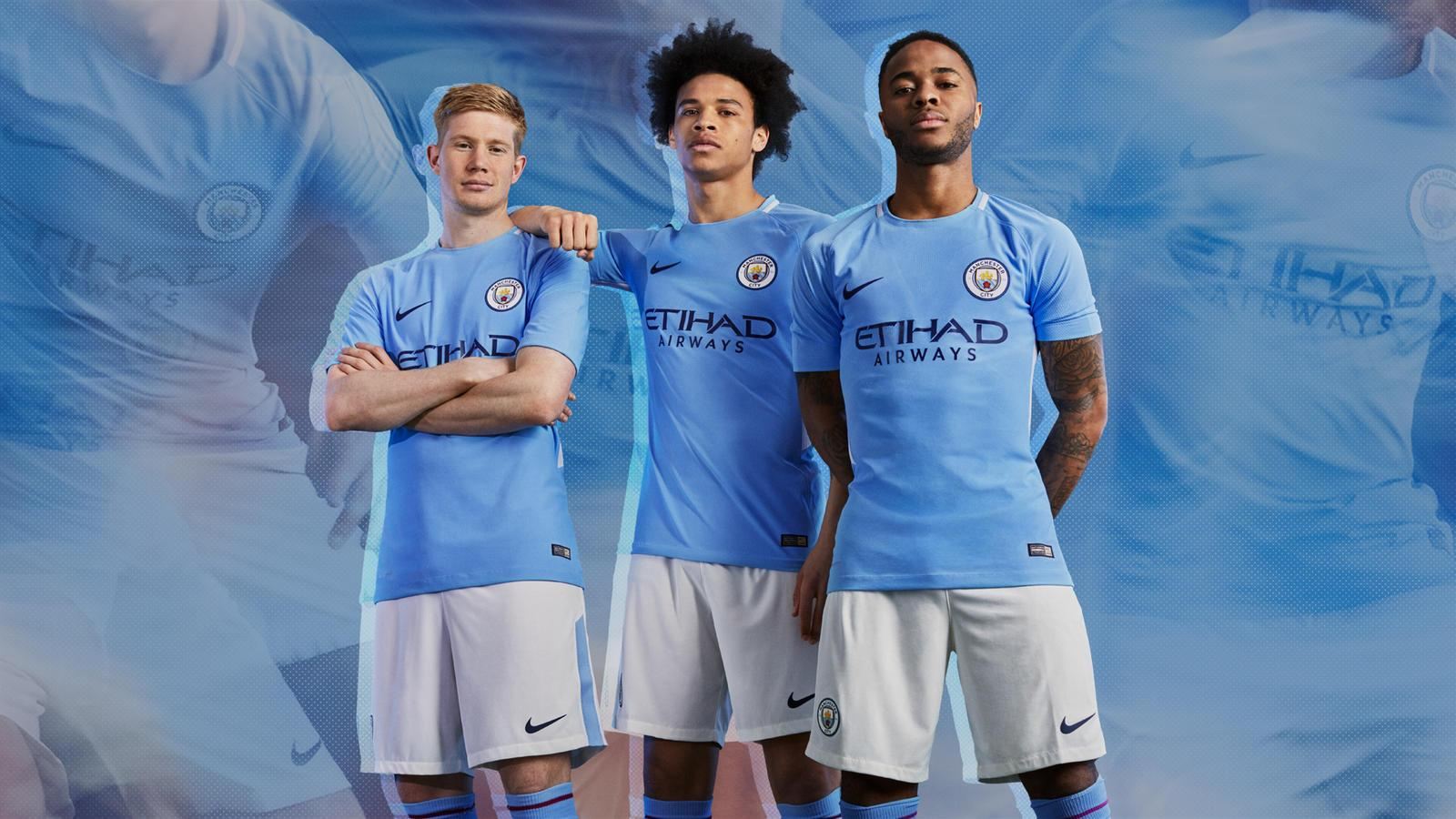 Manchester City FC 201718 Nike Home Kit   FOOTBALL FASHIONORG 1600x900