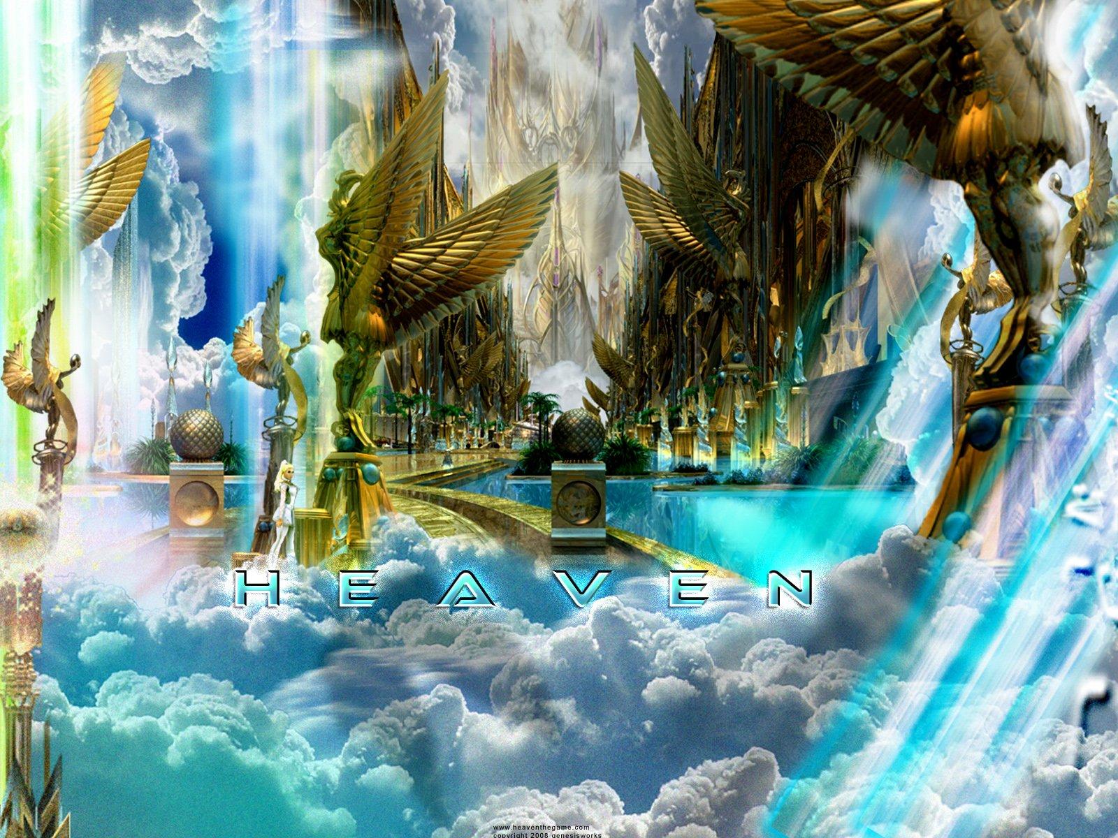 Heaven and Hell HD Wallpaper - WallpaperSafari