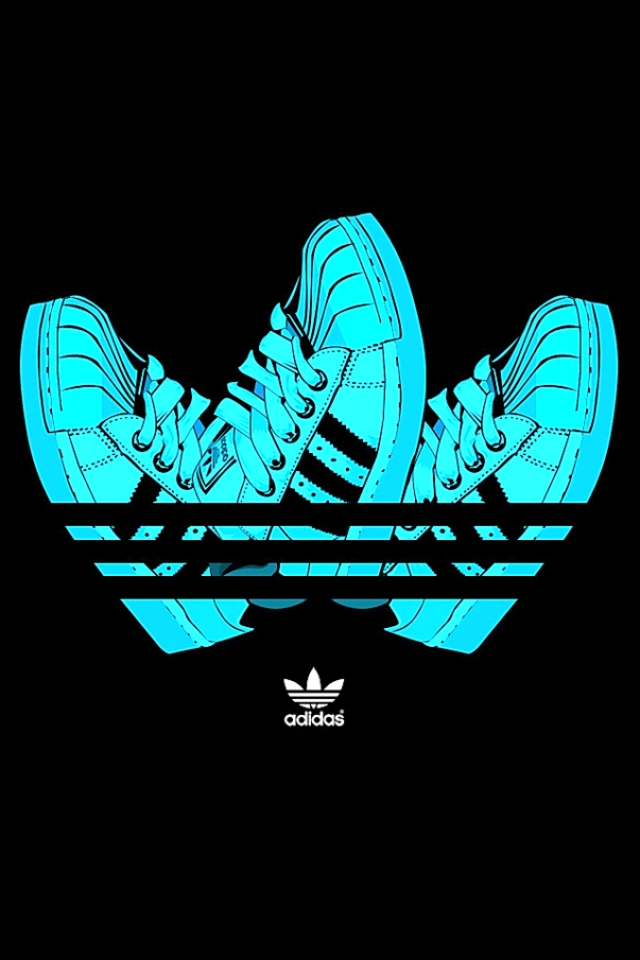 Adidas vector shoes iPhone HD Wallpaper iPhone HD Wallpaper download 640x960