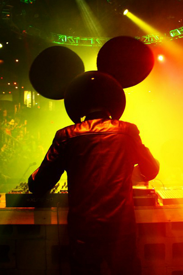 Deadmau5 music artists wallpaper for iPhone download 640x960