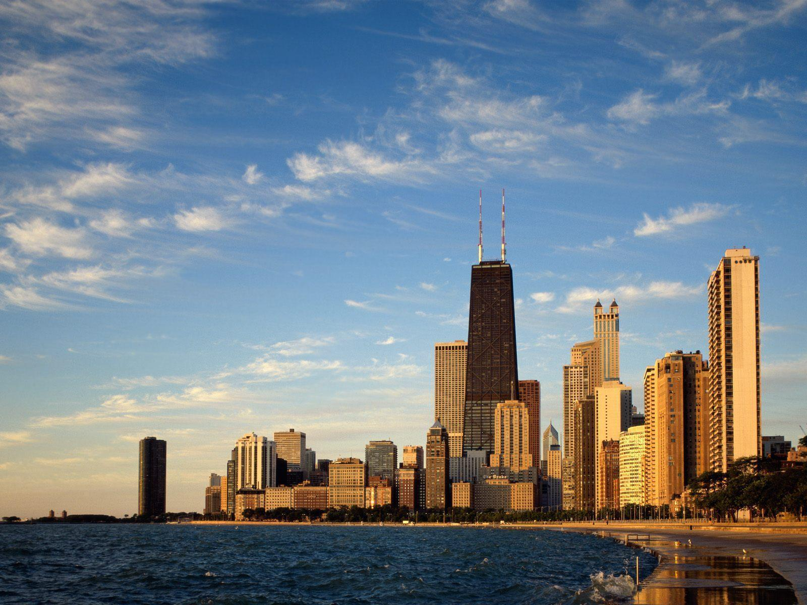 Chicago Skyline Backgrounds 1600x1200
