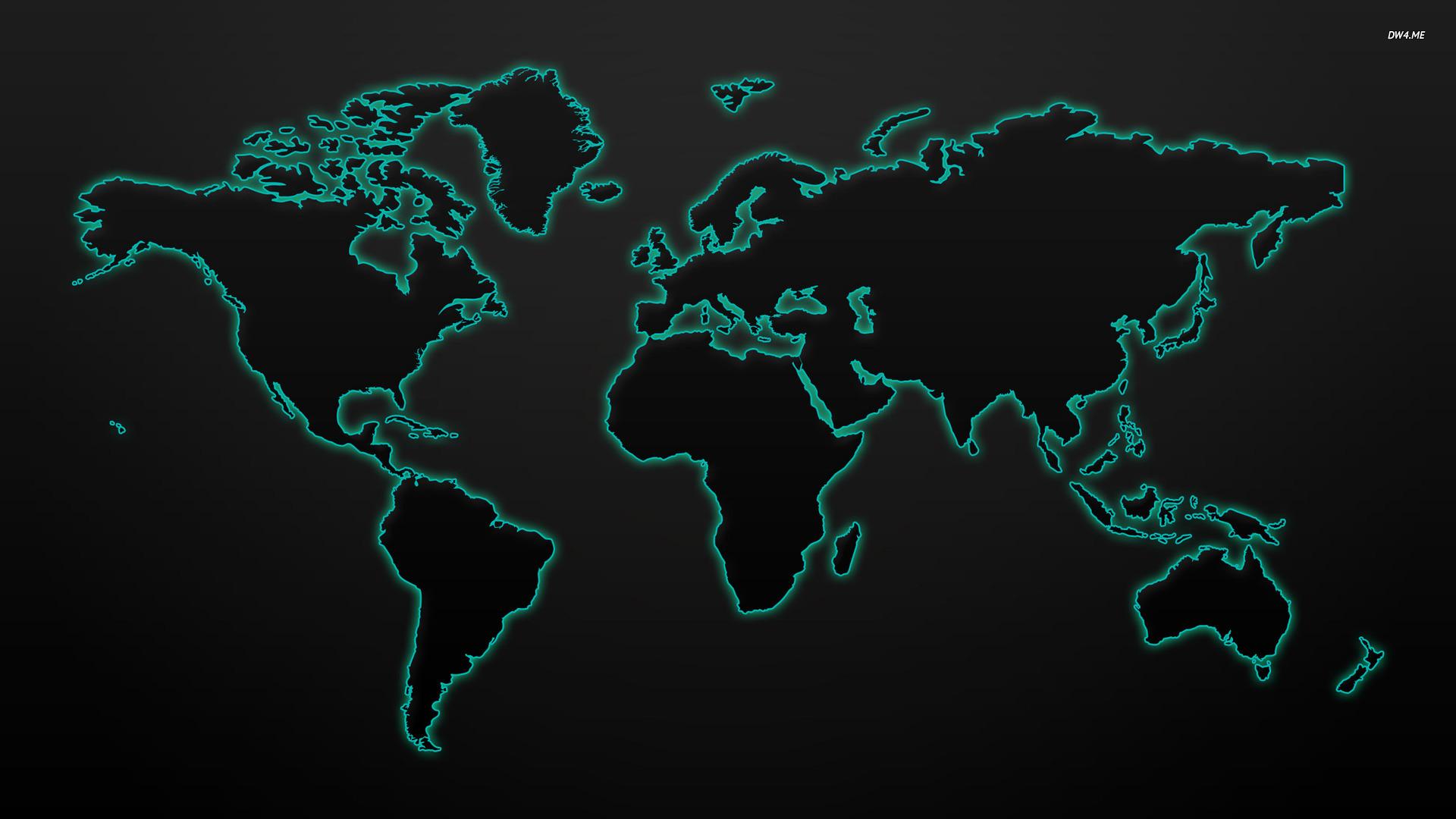 World Map wallpaper 1920x1080 55900 1920x1080