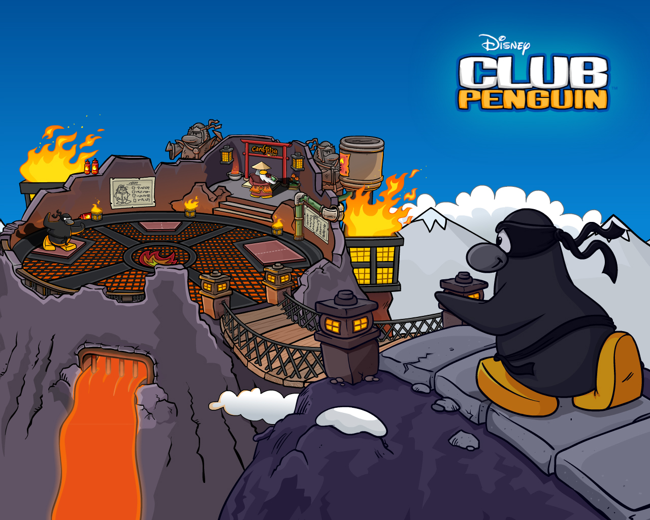 New Club Penguin Card Jitsu Fire Wallpaper Alkatheeri12s Club 1280x1024