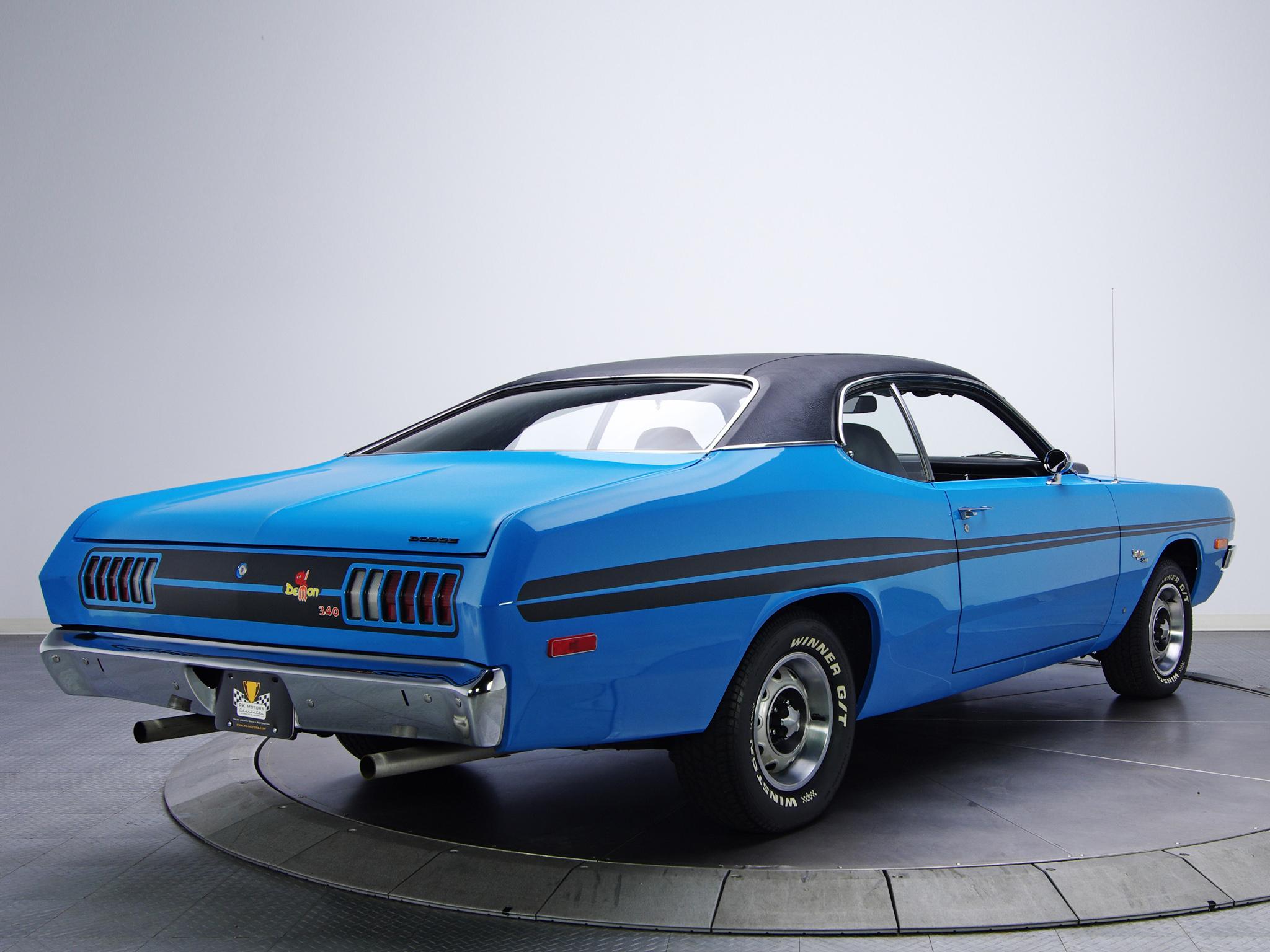 1972 Dodge Dart Demon 340 LM29 muscle classic g wallpaper 2048x1536 2048x1536