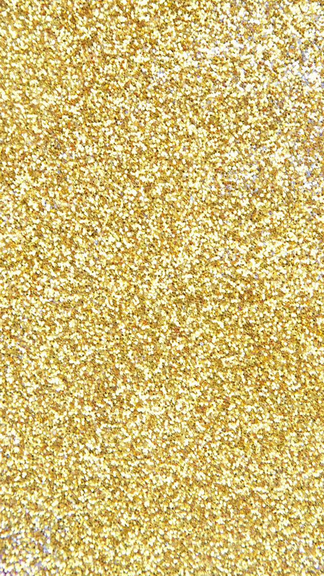 Gold Glitter Phone Wallpaper 640x1136
