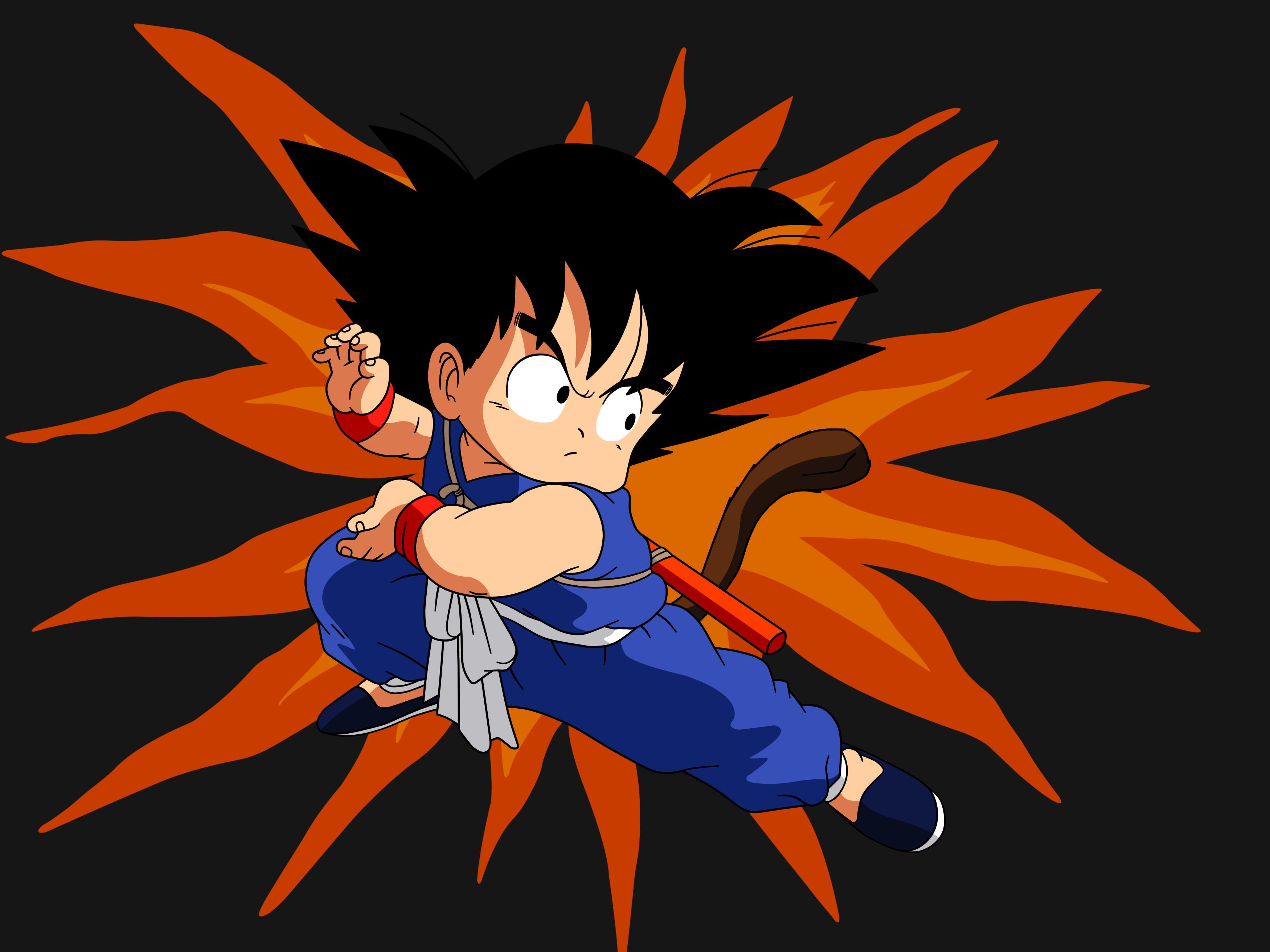 Kid Goku Wallpaper - WallpaperSafari